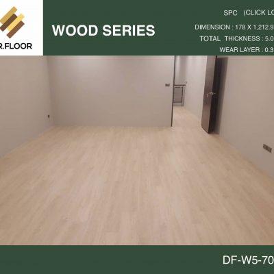 กระเบื้องยาง SPC Dr.Floor รุ่น DF-W5-7001 (บาท/ตร.ม.),พื้น SPC,พื้นสวย,พื้นไม้ไวนิล,พื้นไม้ลามิเนต,พื้นไม้เอ็นจิเนียร์,SCG,UNIX,