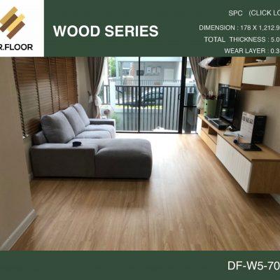 กระเบื้องยาง SPC Dr.Floor รุ่น DF-W5-7002 (บาท/ตร.ม.),พื้น SPC,พื้นสวย,พื้นไม้ไวนิล,พื้นไม้ลามิเนต,พื้นไม้เอ็นจิเนียร์,SCG,UNIX,