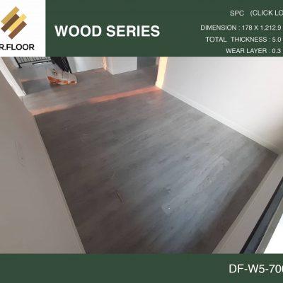 กระเบื้องยาง SPC Dr.Floor รุ่น DF-W5-7003 (บาท/ตร.ม.),พื้น SPC,พื้นสวย,พื้นไม้ไวนิล,พื้นไม้ลามิเนต,พื้นไม้เอ็นจิเนียร์,SCG,UNIX,