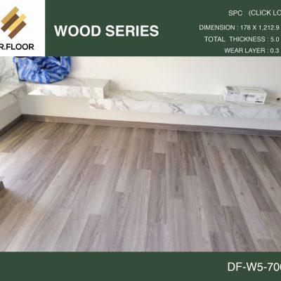 กระเบื้องยาง SPC Dr.Floor รุ่น DF-W5-7004 (บาท/ตร.ม.),พื้น SPC,พื้นสวย,พื้นไม้ไวนิล,พื้นไม้ลามิเนต,พื้นไม้เอ็นจิเนียร์,SCG,UNIX,