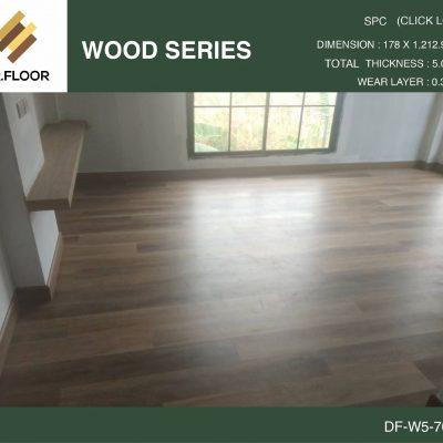 กระเบื้องยาง SPC Dr.Floor รุ่น DF-W5-7006 (บาท/ตร.ม.),พื้น SPC,พื้นสวย,พื้นไม้ไวนิล,พื้นไม้ลามิเนต,พื้นไม้เอ็นจิเนียร์,SCG,UNIX,