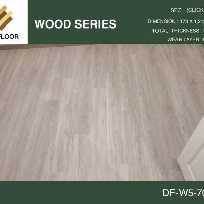 กระเบื้องยาง SPC Dr.Floor รุ่น DF-W5-7011 (บาท/ตร.ม.),พื้น SPC,พื้นสวย,พื้นไม้ไวนิล,พื้นไม้ลามิเนต,พื้นไม้เอ็นจิเนียร์,SCG,UNIX,