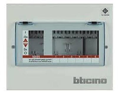 บิทิพลัก คอนซูเมอร์ยูนิต ระบบปลั๊ก-อิน Bticino