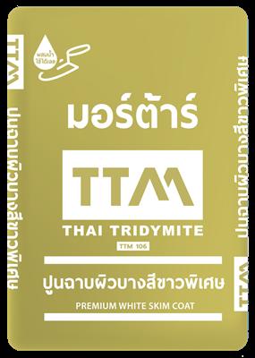 ปูนฉาบผิวบางพิเศษ TTM106