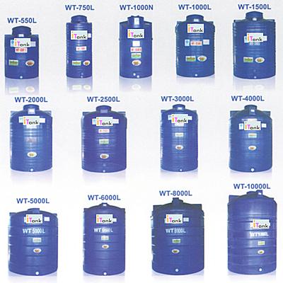 ถังเก็บน้ำบนดิน POLYETHELENEสีฟ้า i-Tank (บาท/ถัง)
