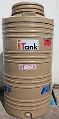 ถังเก็บน้ำบนดิน POLYETHELENEสีทราย i-Tank (บาท/ถัง)