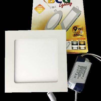 LED โคมฝังฝ้าดาวน์ไลท์แอลอีดี 9W BCG Lighting (บาท/หลอด)