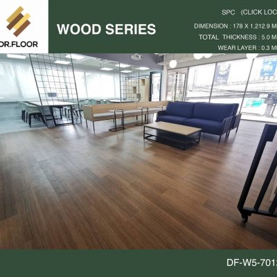 กระเบื้องยาง SPC Dr.Floor รุ่น DF-W5-7012 (บาท/ตร.ม.),พื้น SPC,พื้นสวย,พื้นไม้ไวนิล,พื้นไม้ลามิเนต,พื้นไม้เอ็นจิเนียร์,SCG,UNIX,